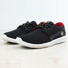 Etnies Scout taille 42.5 us 7.5 noir/blanc/rouge skate shoes bmx fitness running