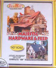 "Bar Mills HO #0942 Majestic Hardware -- Kit - 6 x 6-1/2"" 15.2 x 16.5cm"