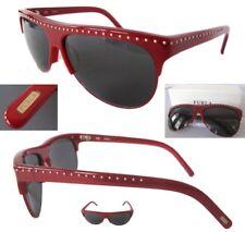 df9fd9711340 New Furla Rockstar SU4704 Ruby/Gray Womens Sunglasses $150 - ITALY