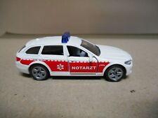 BMW 520i TOURING/FAMILIAR NOTARZT/AMBULANCE 1:55 SIKU 1461