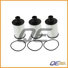 Set of 3 Oil Filters OX774D For Jaguar XF XKR Land Rover LR4 Range Rover / Sport