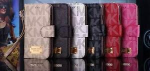 MK Luxury Fashion Wallet Fits iPhone 7/ iPhone 8 Michael Kors flip cover case
