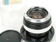 Carl Zeiss Distagon 2,8/25 25mm 1:2,8 Nr.3970006 f. Contarex + Plexi case + cap