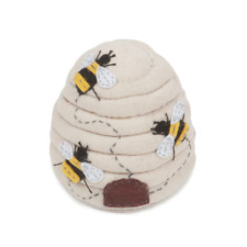 Pin Cushion - Bee Hive  - HobbyGift Premium Collection - PCBEE347