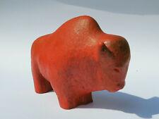 Ruscha Keramik Stier / Bulle mit Vulcano Glasur