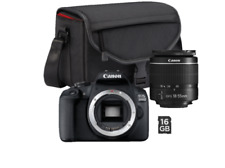 CANON EOS 2000D Set Spiegelreflexkamera inkl. SB130 + 16GB NEU OVP