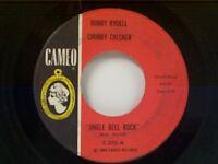 "BOBBY RYDELL / CHUBBY CHECKER ""JINGLE BELL ROCK / JINGLE BELLS IMITATIONS"" 45"