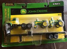 ERTL 2006 John Deere Mack Truck w 630 730 1:64 Tractors Flat Bed