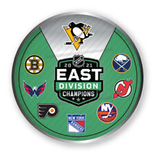 2021 NHL STANLEY Tasse Playoffs Broche Pingouins Est Division Champs W/
