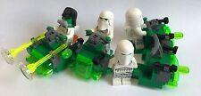 Lego Original Star Wars - 4 nieve Zombie Troopers + 4 motos deslizadoras-Diseño De Mi