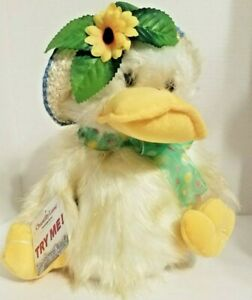 "CHANTILLY Lane Duck Sings ""You Are My Sunshine"" PBC Plush 11"" Tall* NWT"