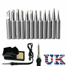 12 Pcs Solder Screwdriver Soldering Iron Tip for Hakko Station 900M-T Tool 4mm