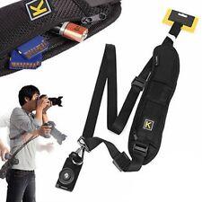 Camera Single ShoulderBelt Strap For Sling SLR DSLR Cameras Canon Sony Nikon UK