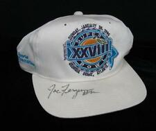 SUPER BOWL FOOTBALL SOUVENIR HAT 1994 SIGNED JOE FERGUSON ATLANTA GA XXVIII