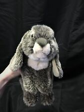 Bunny RABBIT Toys R Us Plush Stuffed Animal Realistic Alley Holland LOP Easter