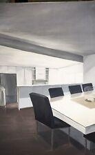 Oil Painting Modern Kitchen
