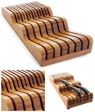 Robert welch signature bambou couteau tiroir bloc unité sigba 2125L