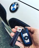Portachiavi  in pelle BMW M PERFORMANCE - COMPATIBILE CON TUTTI I MODELLI