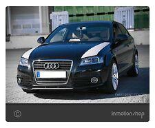 Bonnet-Stripes f. Audi A3 8P S3 RS3 s-line Design Motorhaube Streifen Stripes