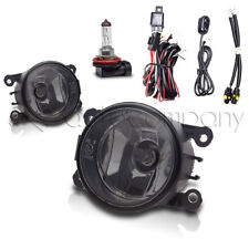 For 2008-2012 Ford Focus Fog Lights Bumper Fog Light Set w/Wiring Kit - Smoke