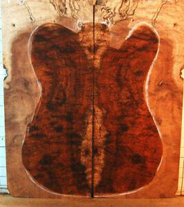 curly burl spalt koa guitar drop top thin laminate figured wood for luthier