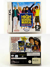 DISNEY HIGH SCHOOL MUSICAL MAKIN' THE CUT DS GAME WITH MANUAL MUSIC DANCE SONGS