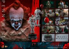 Hot Toys MMS555 1/6 Bill Skarsgard It Chapter Two Pennywise Collectible Figure