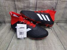 ADIDAS PREDATOR 18.1 SG FOOTBALL BOOTS BNWT GENUINE £180 7.5uk BLACK RED PRO