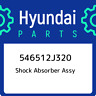 546512J320 Hyundai Shock absorber assy 546512J320, New Genuine OEM Part