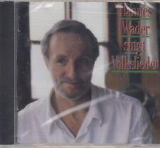 Hannes Wader / Singt Volkslieder (NEU! Original verschweißt, NEW)