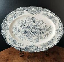 Crown Ducal - Bristol -Oval Platter Meat Plate - Vintage 36cm
