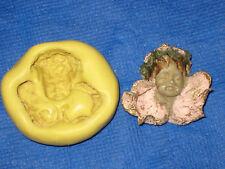 Angel Cherub Flexible Silicone Mold Candy Chocolate  #337 Resin Fimo