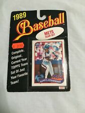 1989 Topps New York Mets Team Set Sealed