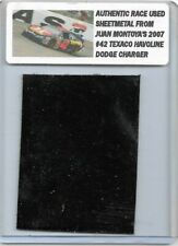 JUAN PABLO MONTOYA NASCAR RACE USED SHEET METAL CAR PIECE 2007 TEXACO CAR N 226
