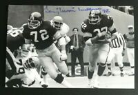 GERRY MULLINS NFL Pittsburgh Steelers Auto Autographed Signed 4x6 Photo 2