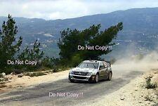 Petter Solberg Citroen Xsara WRC Cyprus Rally 2009 Photograph 1