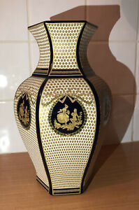Décor Exclusiv Vintage Vase • Made in Italy • Porcelain
