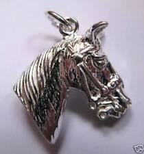 Pulsera de charms de joyería de plata de ley, con animales e insectos