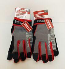 Hyper Tough High Dexterity Touchscreen Gloves Xl Lot Of 2 New