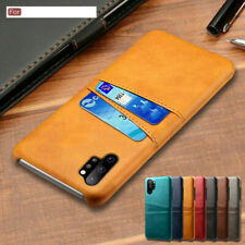 For Samsung S21 S20 FE Note 20 S20 A51 A71 Luxury Leather Slim Card Case Cover