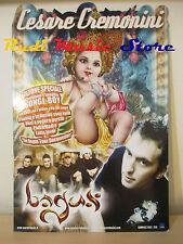 CARTONATO PROMO CESARE CREMONINI bagus 66 X 43 CM cd dvd vhs lp mc