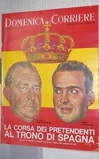 LA DOMENICA DEL CORRIERE 11 dicembre 1966 Monarchia in Spagna Grosseto Thadden