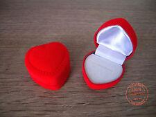 Scatole Scatola Scatolina Forma Cuore Rosso Confezione Regalo Anelli Anello Top