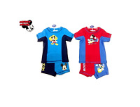 Official Mickey Mouse 2 pc Swim Suit Disney Swimming Beachwear Size 3 To 8 Year