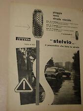PIRELLI PNEUMATICI STELVIO=ANNI '50=PUBBLICITA=ADVERTISING=WERBUNG=375
