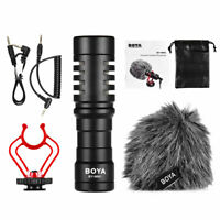 BOYA BY-MM1 Video Mic Microphone Condensor for Nikon Canon DSLR Camera Camcorder
