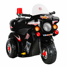 Rigo Kids Ride on Motorbike Toy - Black