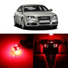18 x Error Free Red LED Interior Light For 2005 - 2011 Audi A6 S6 C6 + TOOL