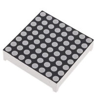 8x8 3mm Dot Matrix Red LED Display Common Anode ATF