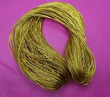 100 meters x 1.5mm Gold Metallic Thread String Cord DIY Jewellery Beading Craft